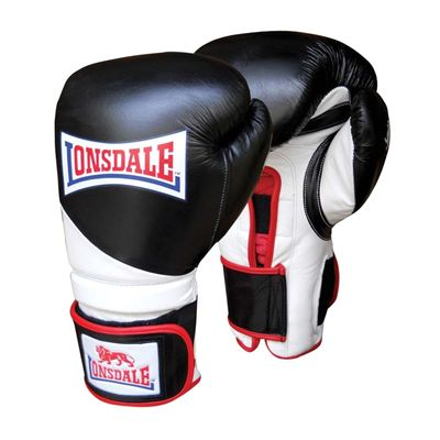 Lonsdale Super Pro L-CORE Training Glove Hook  Loop