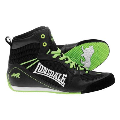Lonsdale Typhoon Low Junior Boxing Boots