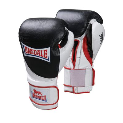 Lonsdale Ultimate Pro Fight Training Glove Hook and Loop