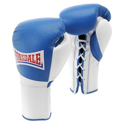 Lonsdale Mex Pro Fight Gloves - Blue/White
