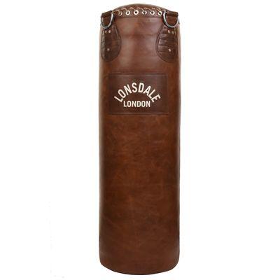 Lonsdale Vintage Leather Punch Bag