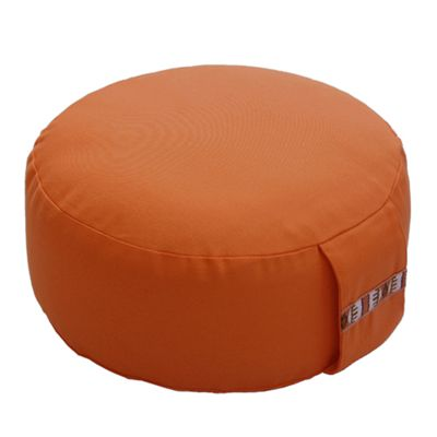 Lotus Design 10cm Basic Meditation Cushion - Dark Orange