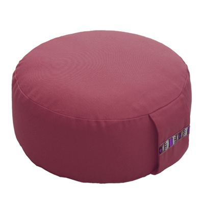 Lotus Design 10cm Basic Meditation Cushion - Burgundy