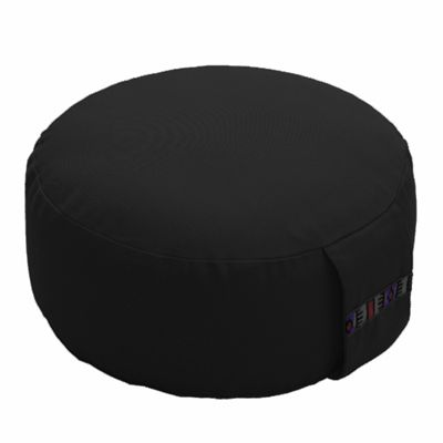 Lotus Design 10cm Basic Meditation Cushion - Black