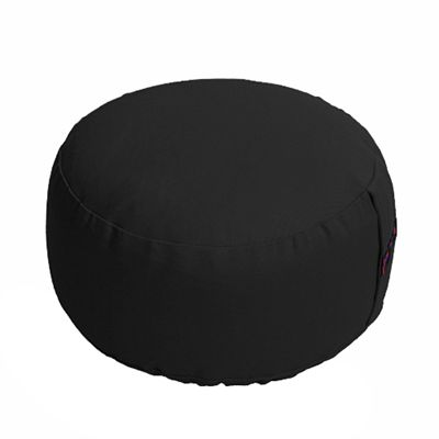 Lotus Design Basic Meditation Cushion - 14cm - Black