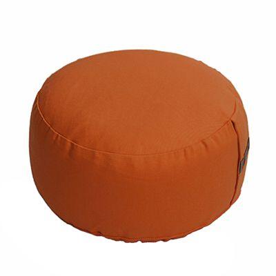 Lotus Design Basic Meditation Cushion - 14cm - Dark Orange