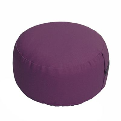 Lotus Design Basic Meditation Cushion - 14cm - Lilac