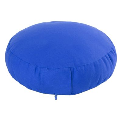 Lotus Design Classic Meditation Cushion with Zipper - 7cm - Navy