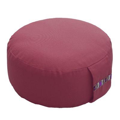 Lotus Design 12cm Basic Meditation Cushion - Burgundy