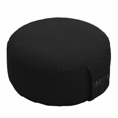 Lotus Design 12cm Basic Meditation Cushion - Black
