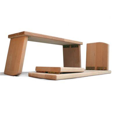 Lotus Design Comfort Travel 19cm Folding Meditation Bench