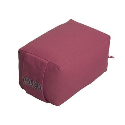 Lotus Design Mini Travel Meditation Cushion - Burgundy