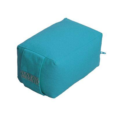 Lotus Design Mini Travel Meditation Cushion - Turquoise
