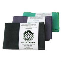 Lotus Design Quick Dry Small Yoga Towel
