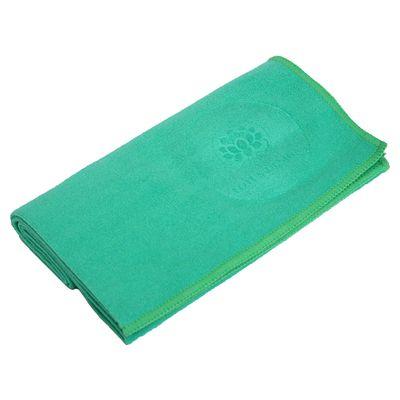 Lotus Design Quick Dry Small Yoga Towel Green Image