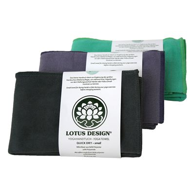 Lotus Design Quick Dry Small Yoga Towel Image