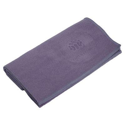 Lotus Design Quick Dry Small Yoga Towel Purple Image