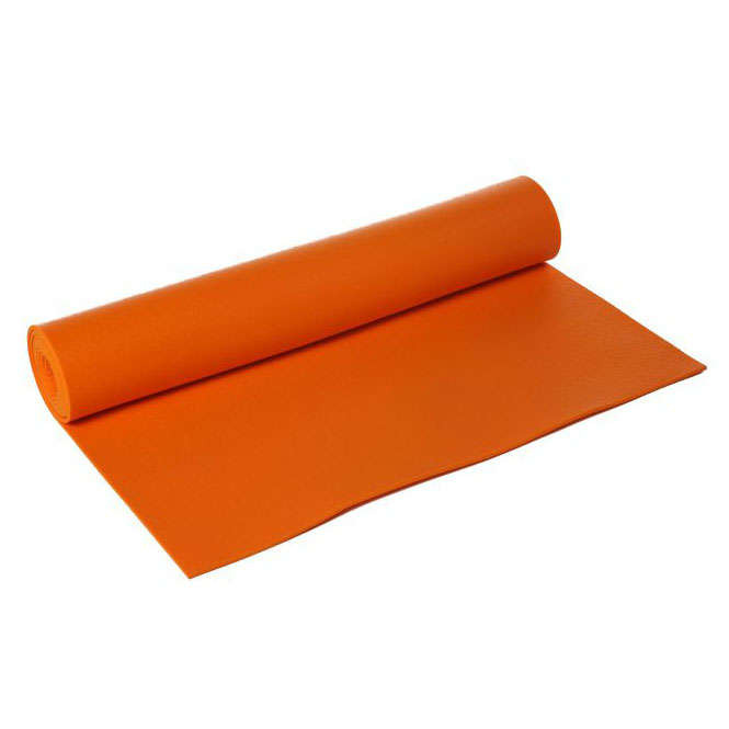 Lotus Design Standard 183 x 60cm Yoga Mat  Orange