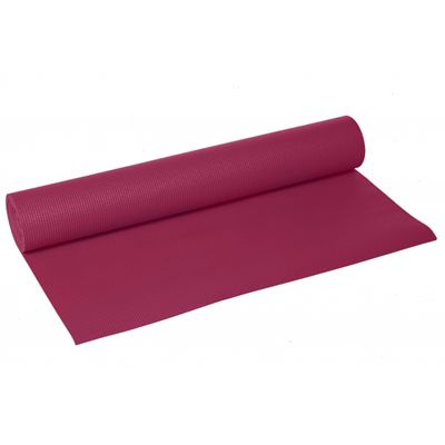 Lotus Design Trend Yoga Mat 4mm - Burgundy