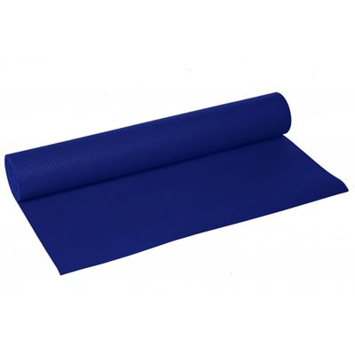 Lotus Design Trend Yoga Mat 4mm - Dark Blue