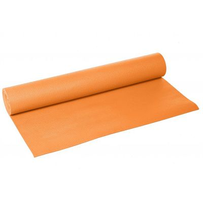 Lotus Design Trend Yoga Mat 4mm - Orange Saffron