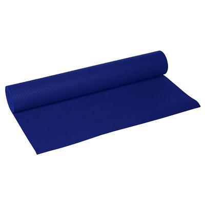 Lotus Design Trend 6mm Yoga Mat - Dark Blue - Image