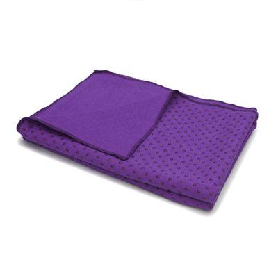 Lotus Design Yoga Mat Towel - Lilac