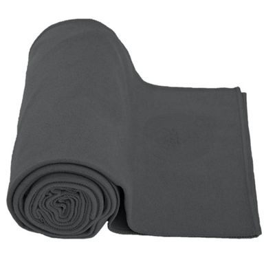Lotus Design Yoga Towel - Grey Image