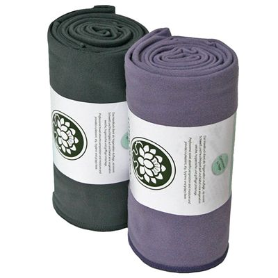 Lotus Design Yoga Towel - Main Image