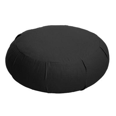 Lotus Design Zafu Meditation Cushion - Black