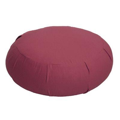 Lotus Design Zafu Meditation Cushion - Burgundy