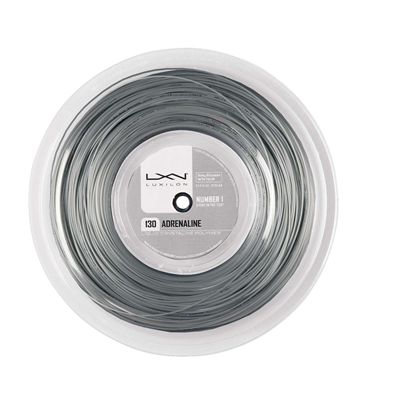 Luxilon Adrenaline 130 Tennis String 200m Reel Platinum