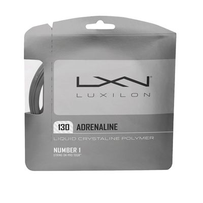 Luxilon Adrenaline 130 Tennis String Set Platinum