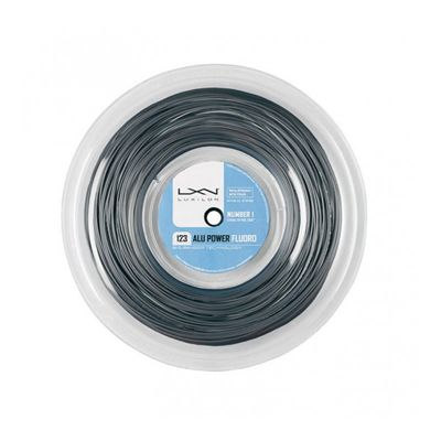 Luxilon Big Banger Alu Power Fluoro 123 Tennis String 220m Reel Silver