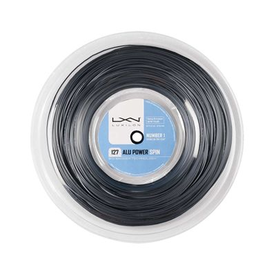 Luxilon Big Banger Alu Power Spin 127 Tennis String 220m Reel Silver