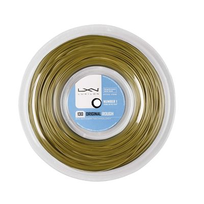 Luxilon Big Banger Original 130 Rough Tennis String 200m Reel Amber