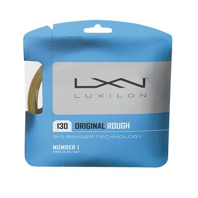 Luxilon Big Banger Original 130 Rough Tennis String Set Amber