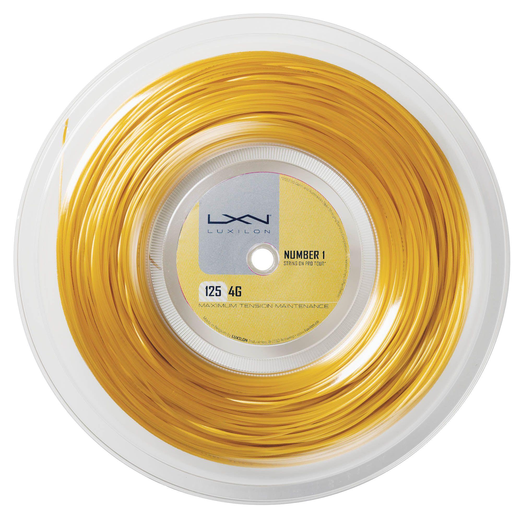 Luxilon 4g 125 Tennis String 200m Reel Sweatband Com