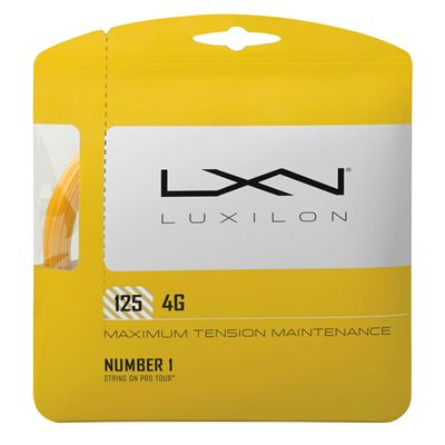 Luxilon 4G 125 Tennis String Set