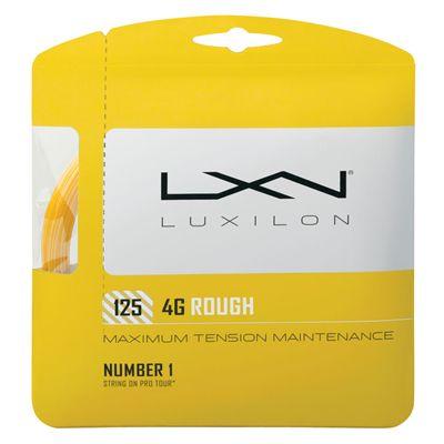 Luxilon 4G Rough 125 Tennis String Set