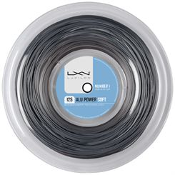 Luxilon Big Banger Alu Power Soft 125 Tennis String - 200m Reel