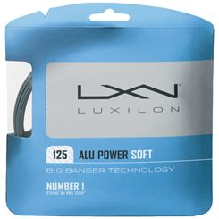 Luxilon Big Banger Alu Power Soft 125 Tennis String Set