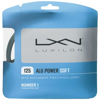Luxilon Big Banger Alu Power Soft 125 Tennis String Set