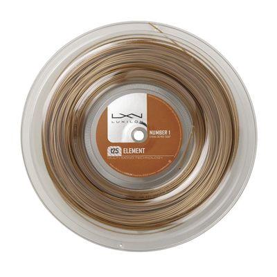 Luxilon Element 1.25mm Tennis String - 200m Reel