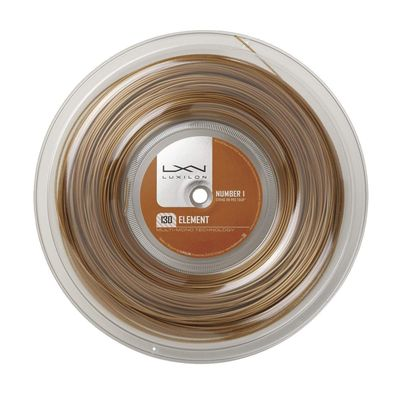 Luxilon Element 1.30mm Tennis String - 200m Reel