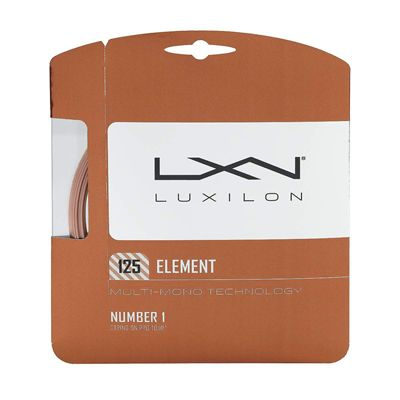 Luxilon Element 1.25mm Tennis String Set