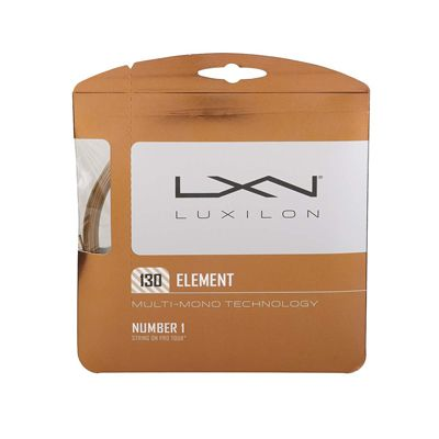 Luxilon Element 1.30mm Tennis String Set