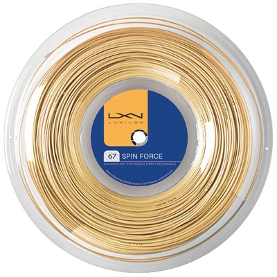 Luxilon Spin Force Badminton String - 200m Reel-Image