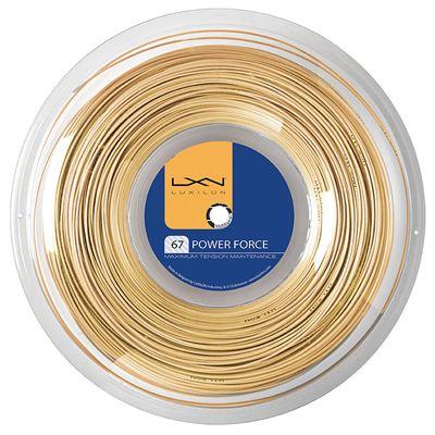 Luxilon Power Force Badminton String 200m Reel
