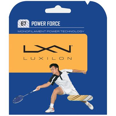 Luxilon Spin Force Badminton String Set